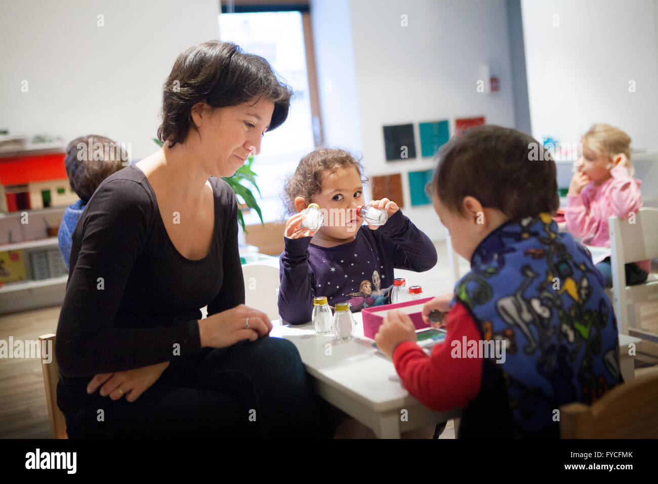 NURSERY SCHOOL - Stock Image