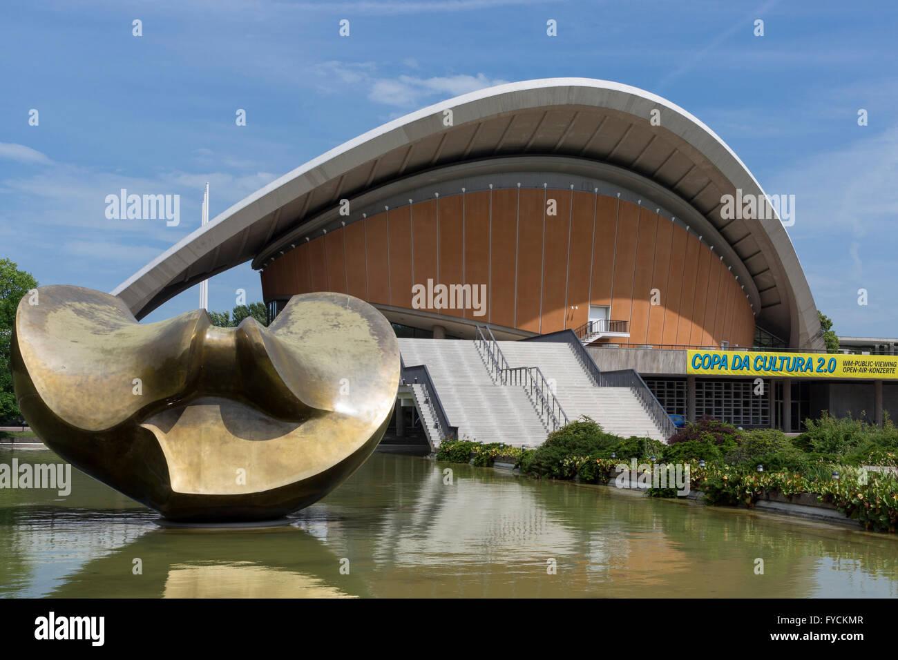Haus der Kulturen der Welt, Berlin, Germany - Stock Image