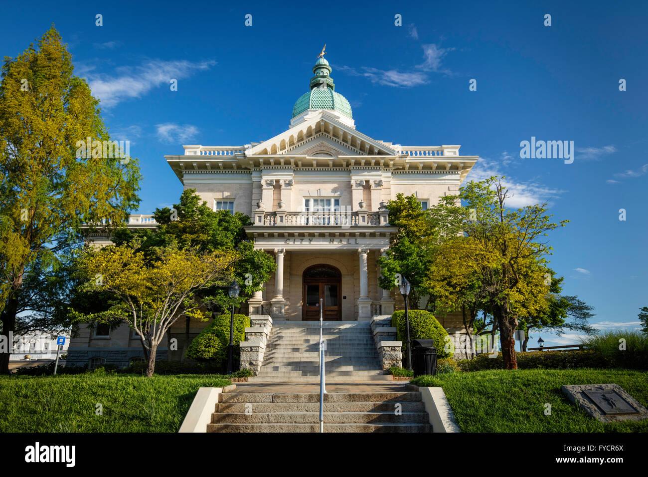 City Hall, Athens, Georgia, USA - Stock Image