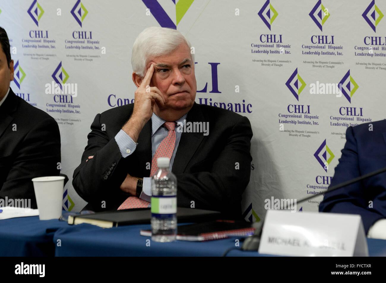 Former Connecticut Senator Christopher Dodd - Washington, DC USA - Stock Image
