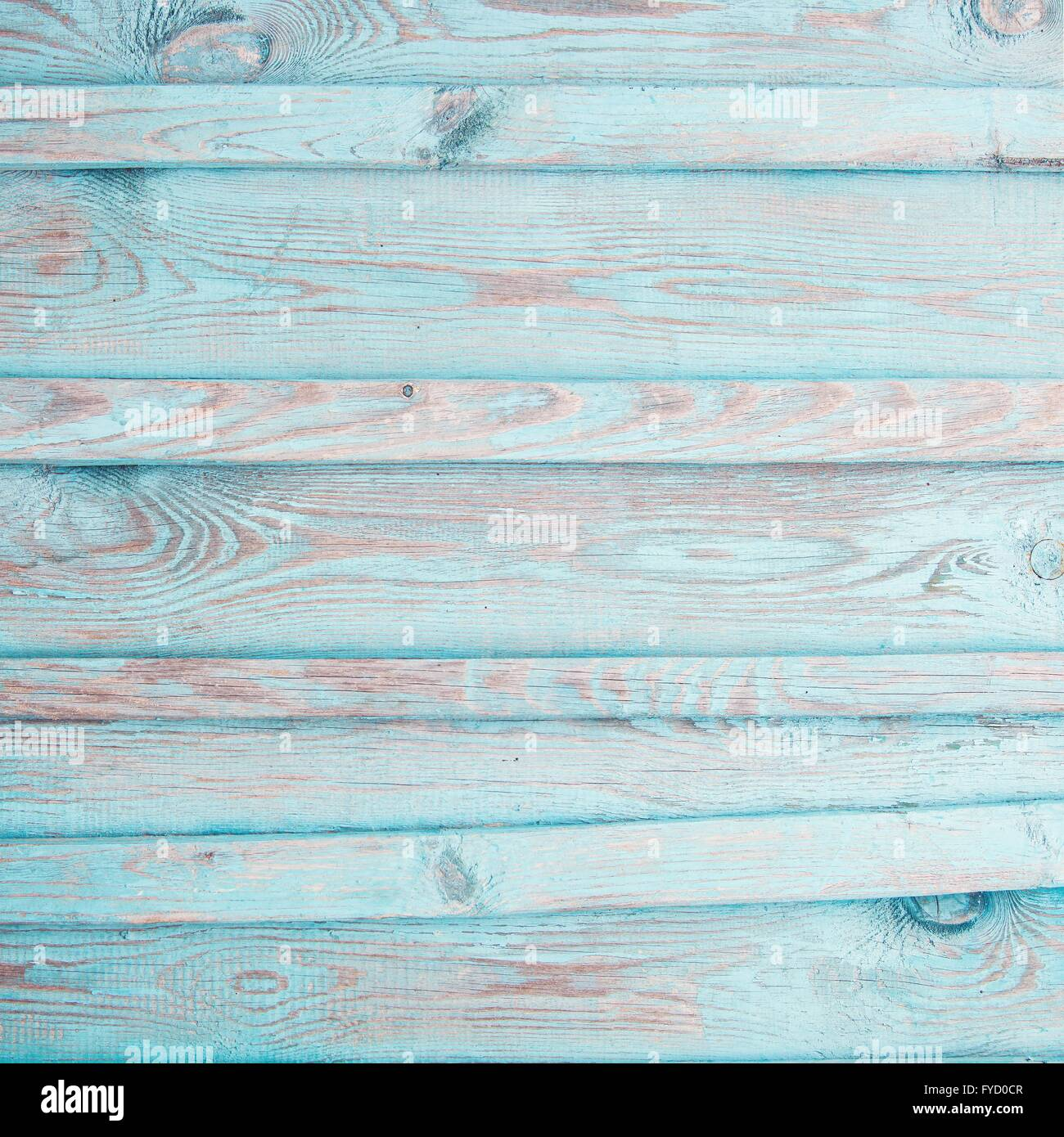 Rustic Old Plank Background In Turquoise Mint And Beige Colors With Textured Scratches Antique Cracked Paint For Scrapbooki