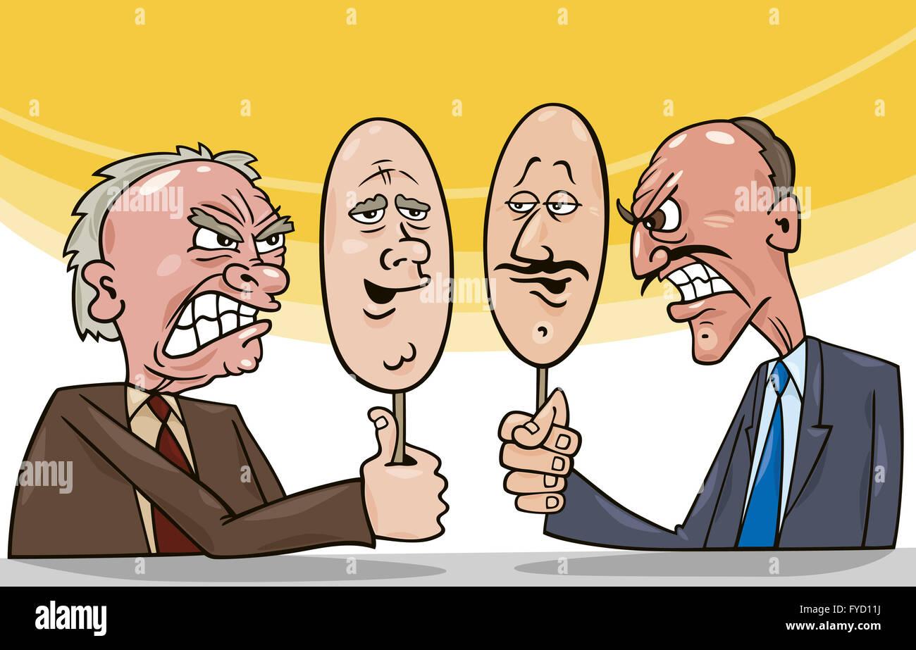 art of diplomacy - Stock Image