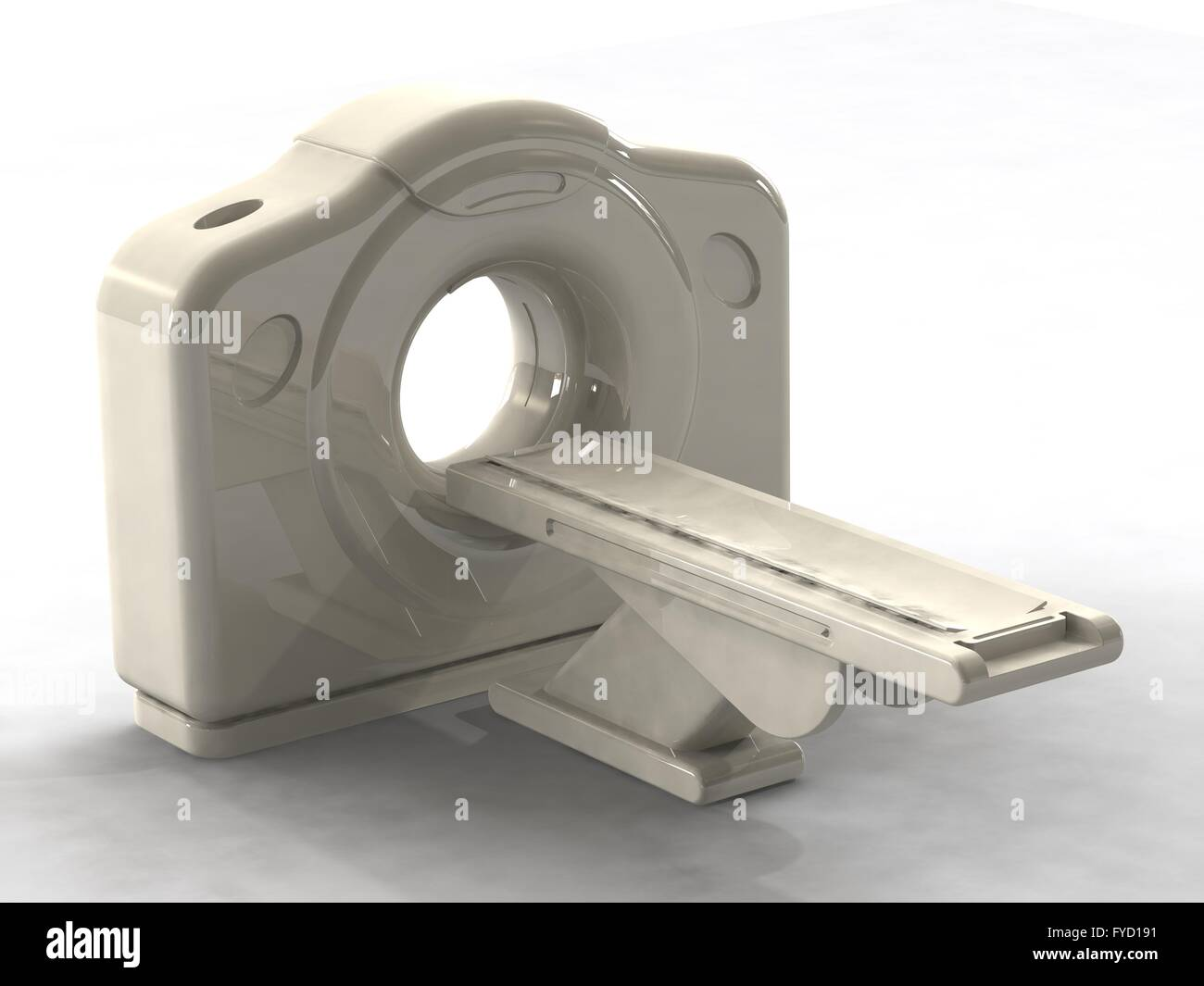 computed axial tomography ct or cat scanner - Stock Image