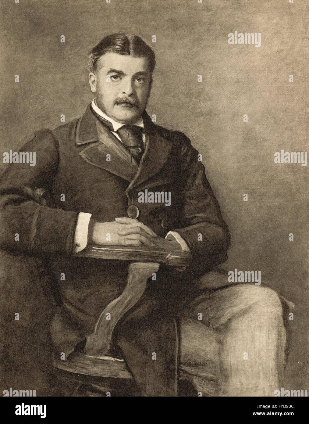 Sir Arthur Sullivan, Composer 1842-1900 - Stock Image
