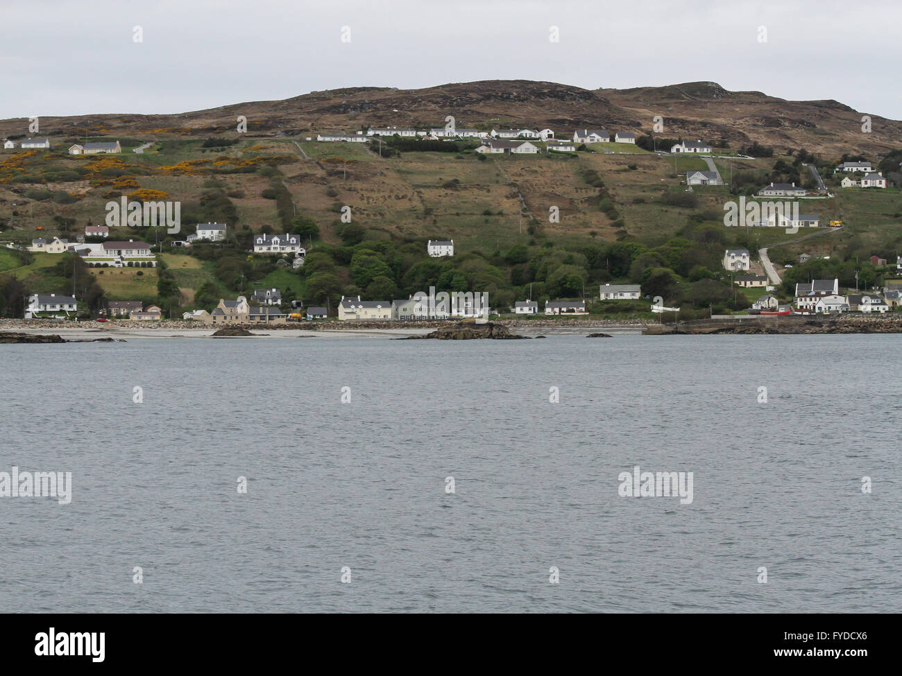 Leagbarrow on Arranmore - the largest inhabited island in County Donegal Ireland. - Stock Image