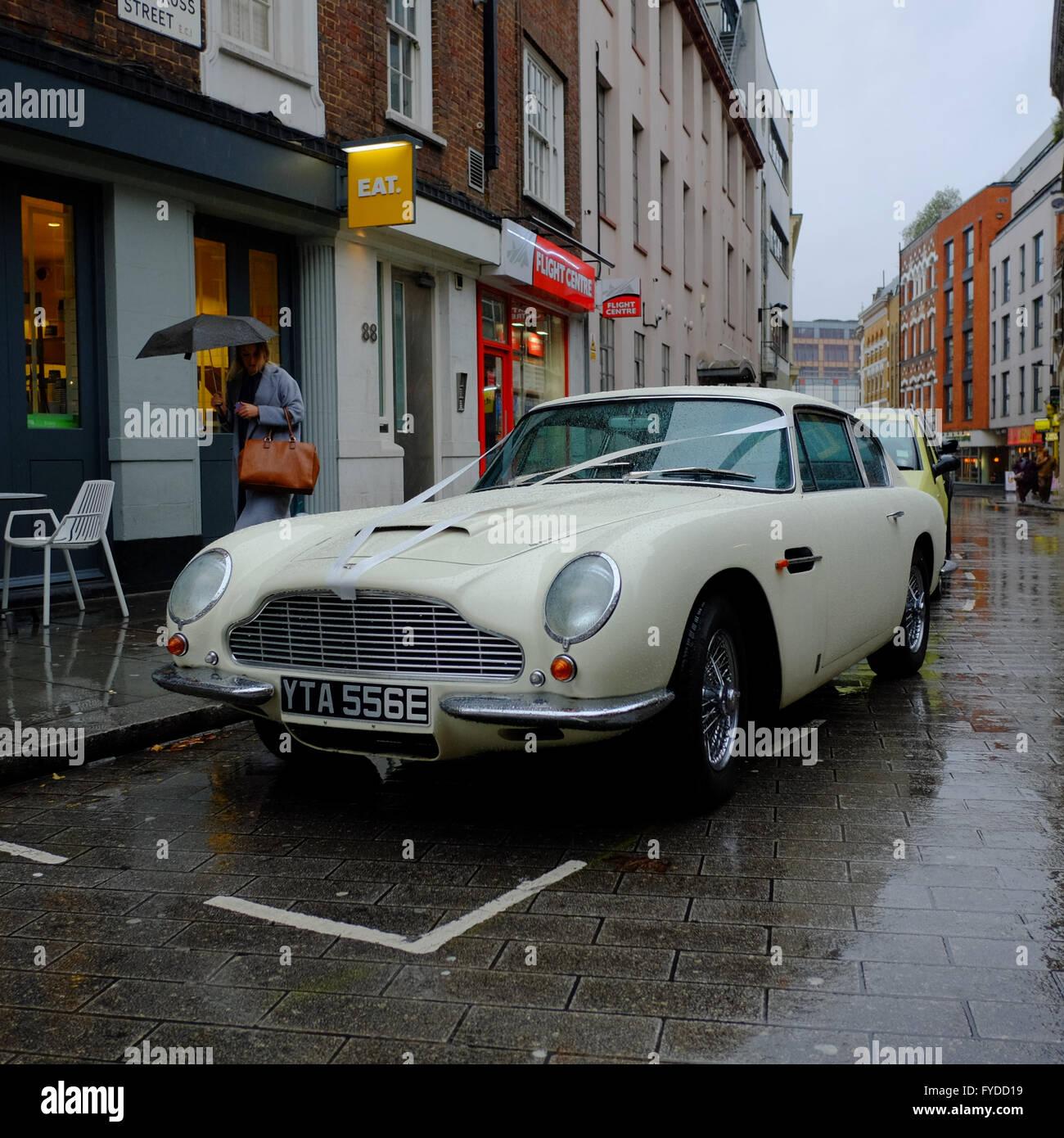 White Aston Martin Stock Photos & White Aston Martin Stock