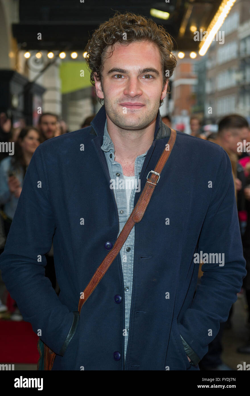 London, UK. 25th April, 2016. Gala Night performance of 'Doctor Faustus' at The Duke Of York's Theatre - Stock Image