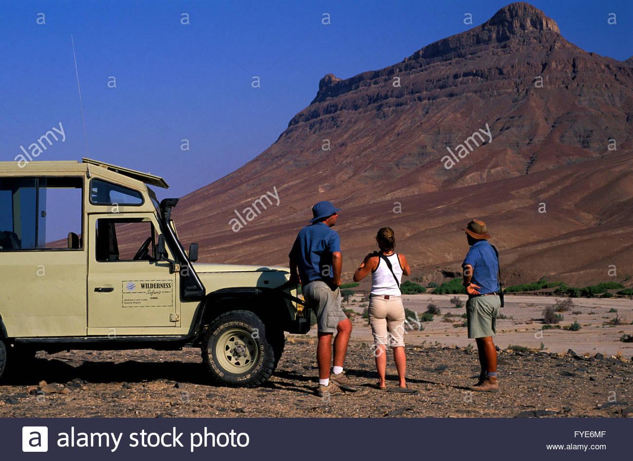 Baines Mountains Namibia - Stock Image