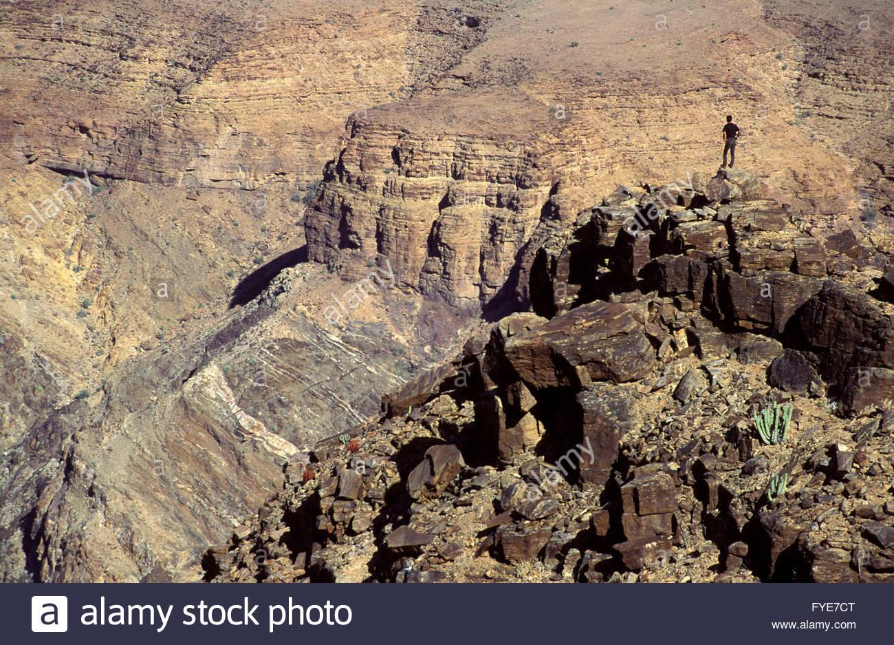 Fish river canyon Namibia - Stock Image