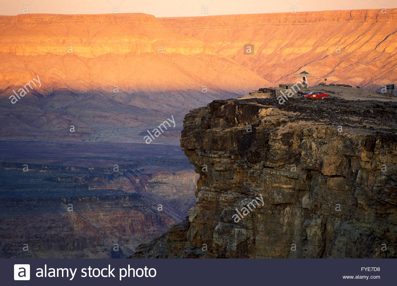 Fish river canyon Namibia. - Stock Image