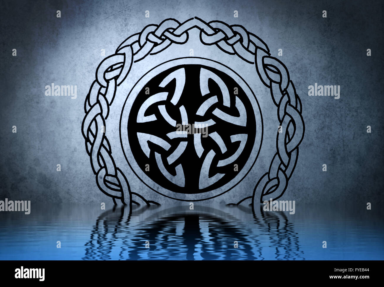 Celtic Symbol Water Stock Photos Celtic Symbol Water Stock Images