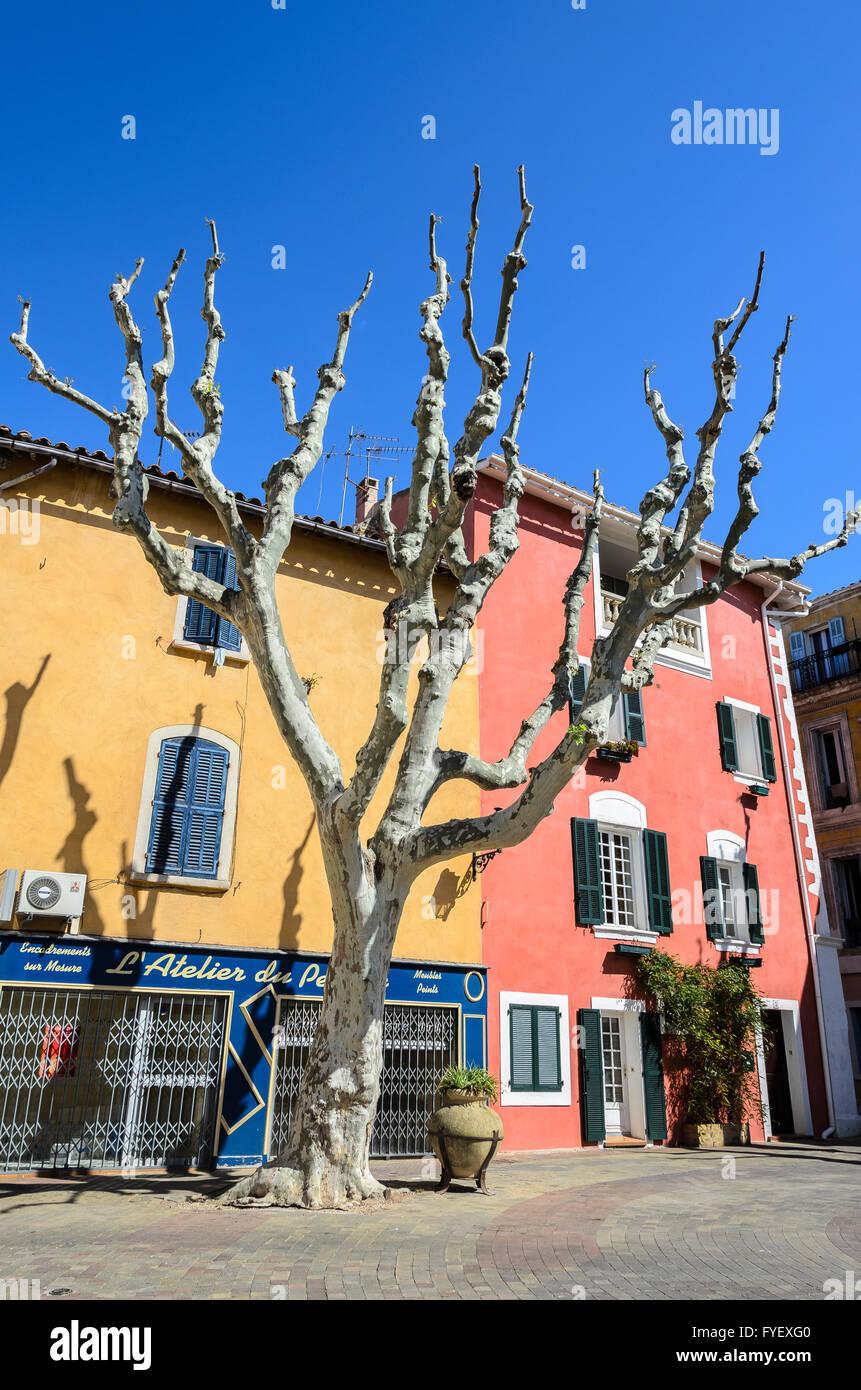 Mirabeau, Martigues, Bouches-du-Rhône, France - Stock Image