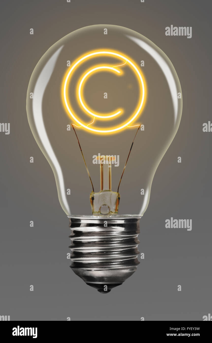 creativity copyright - Stock Image