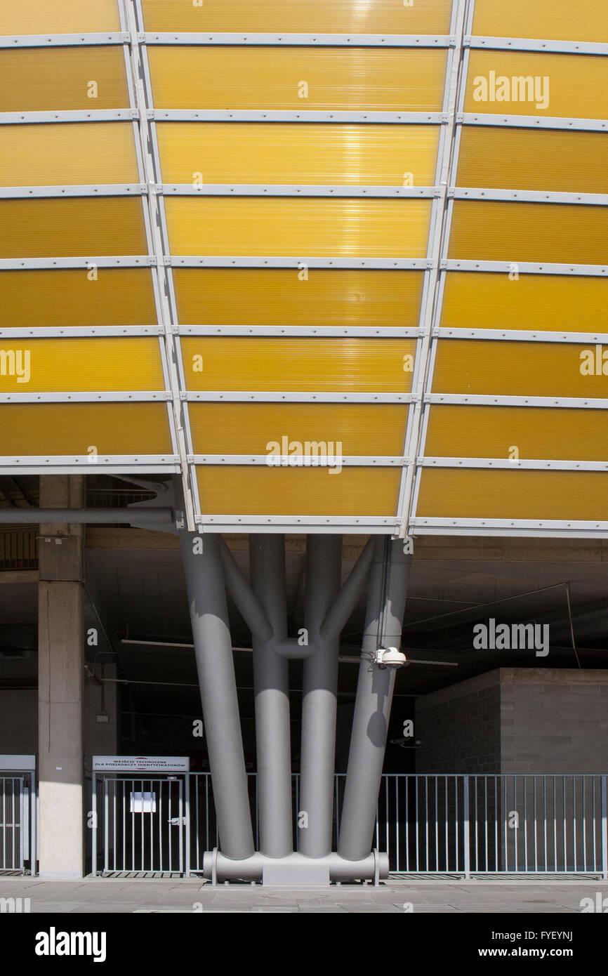 Stadion Energa Gdańsk FKA PGE Arena, - Stock Image