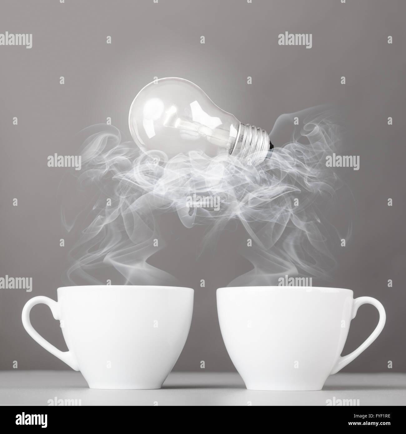 idea birth - Stock Image