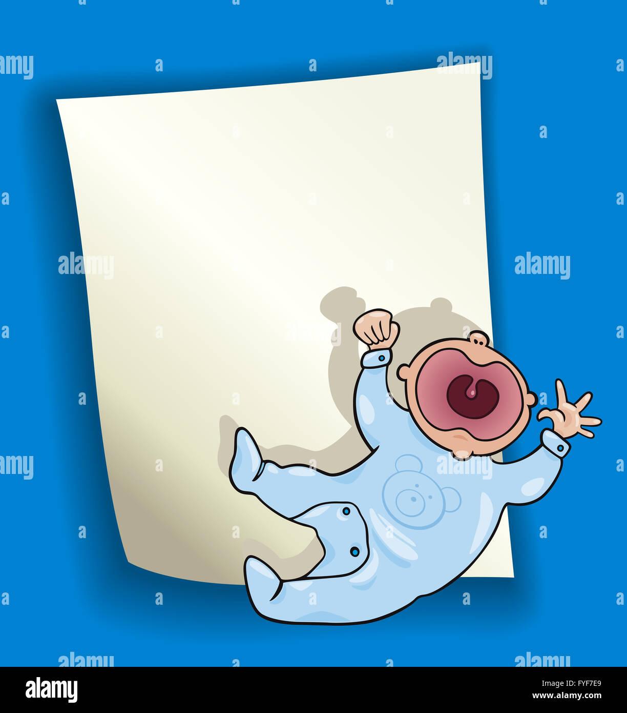 holiday baby illustration baptism cartoon stock photos holiday