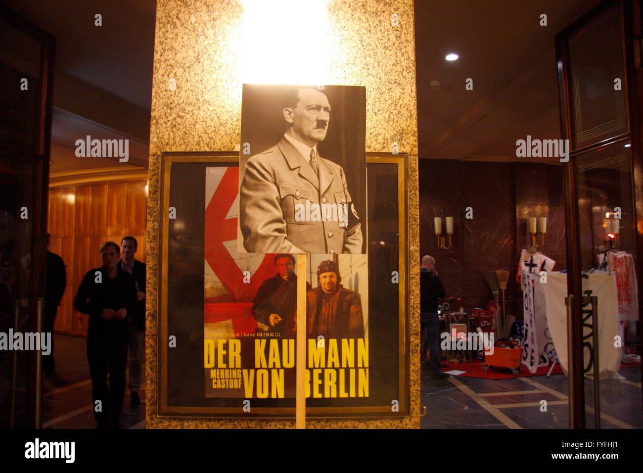 Impressionen - 'Gedenken 3000', Veranstaltung fuer den im August 2010 verstorbenen Christoph Schlingensief - Stock Image