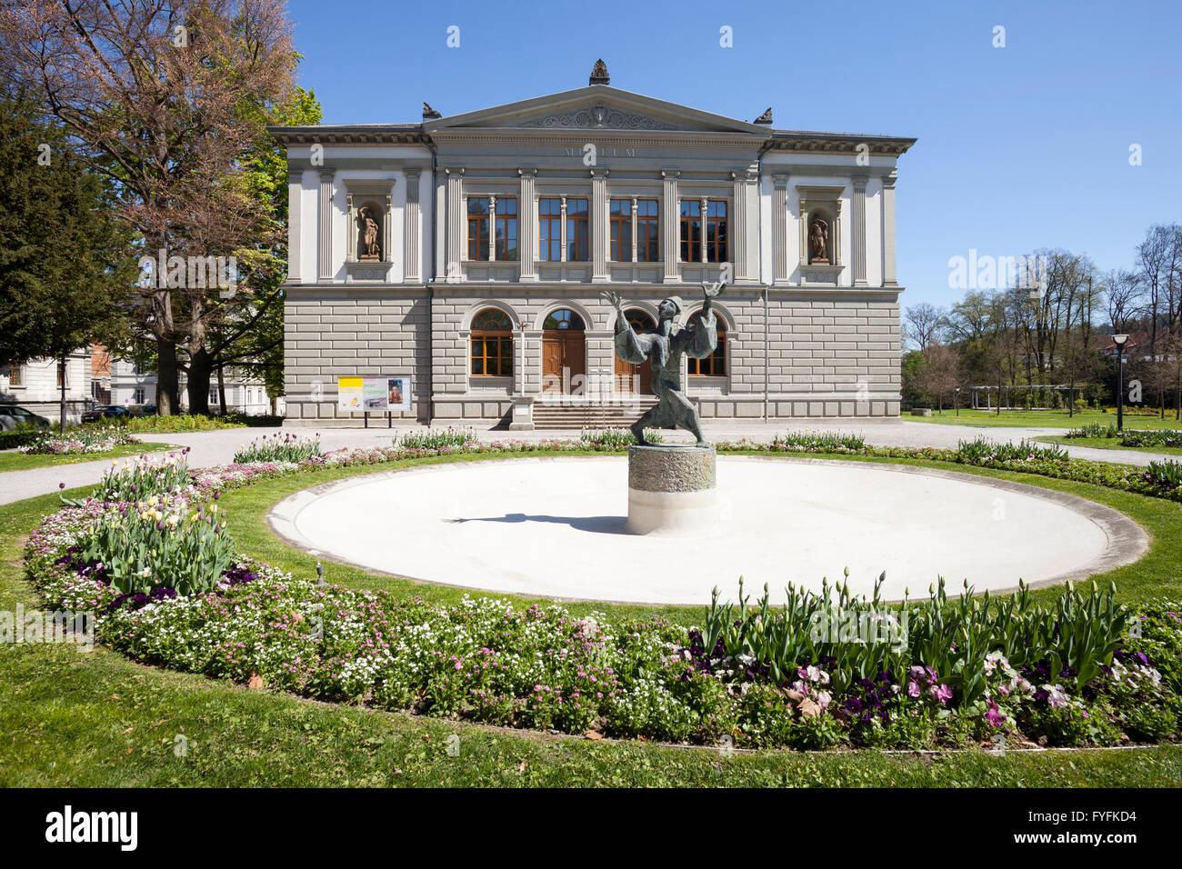 Natural History and Art Museum, St. Gallen, Canton of St. Gallen, Switzerland - Stock Image