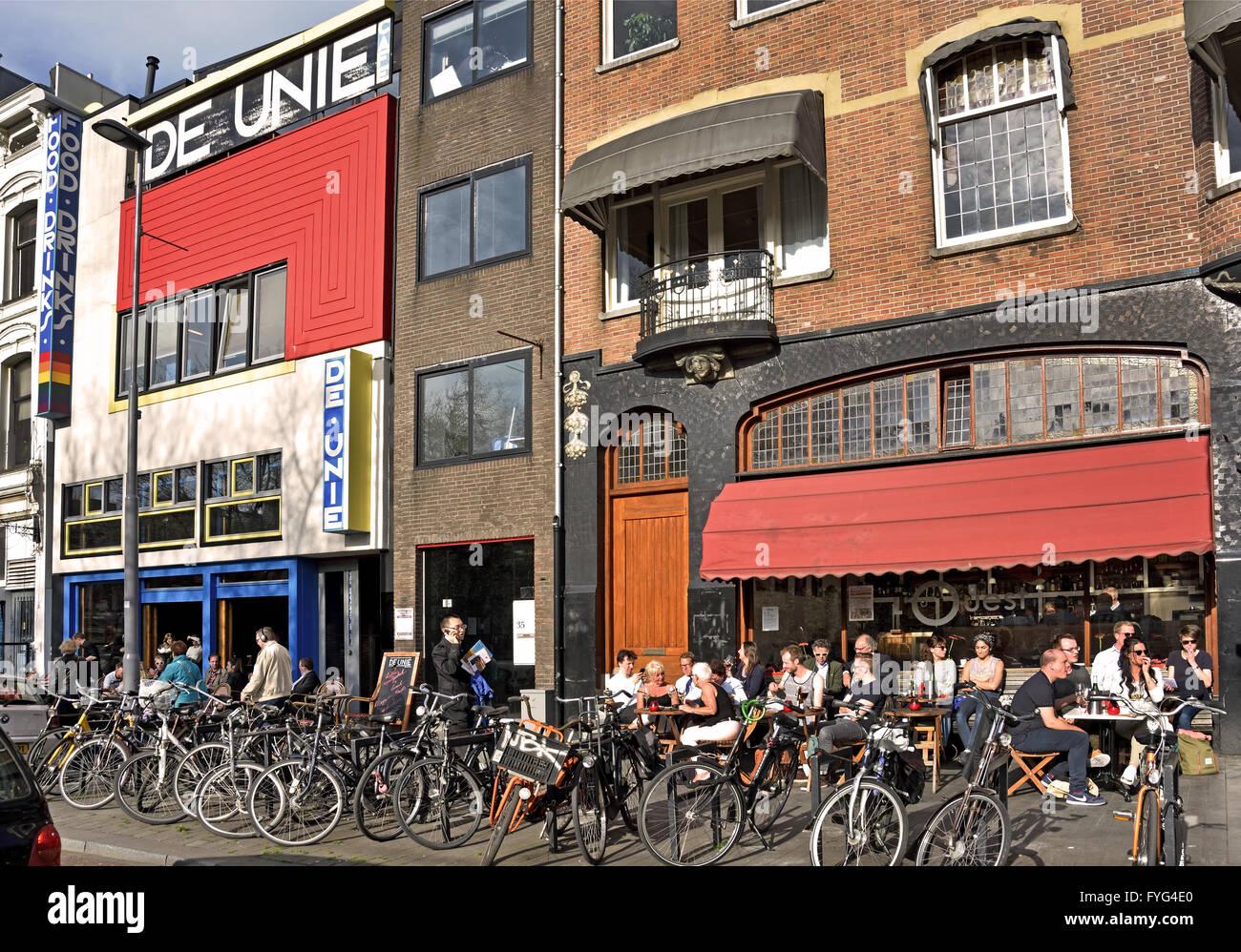 Top Café de Unie ( architect JJP Oud's ) L'OUEST ( wine bar restaurant &GT73