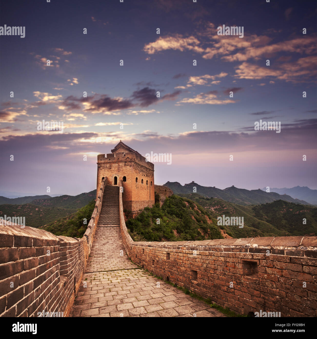 greatwall - Stock Image