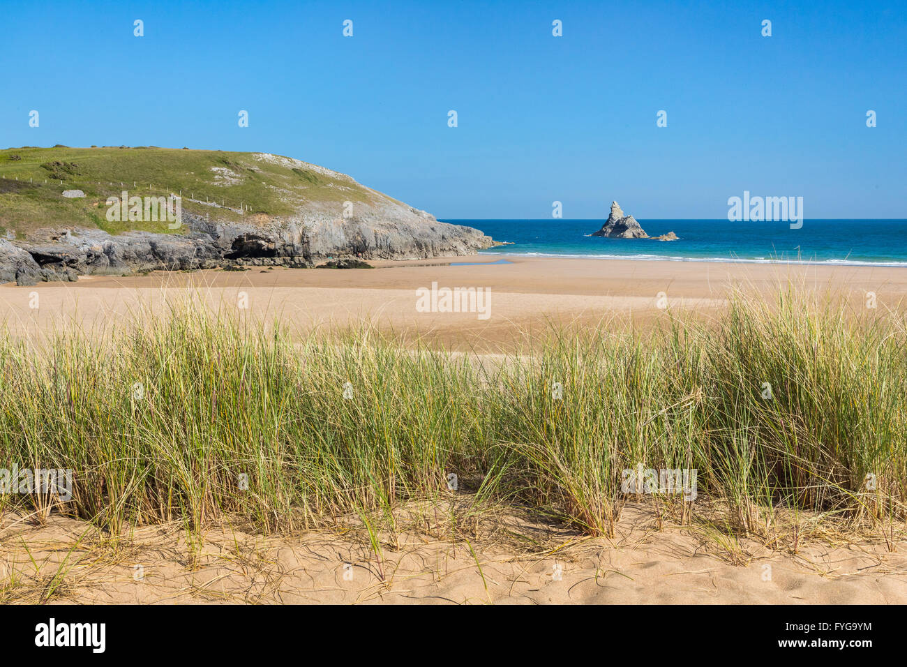 Broad Haven (south) - Pembrokeshire - Stock Image