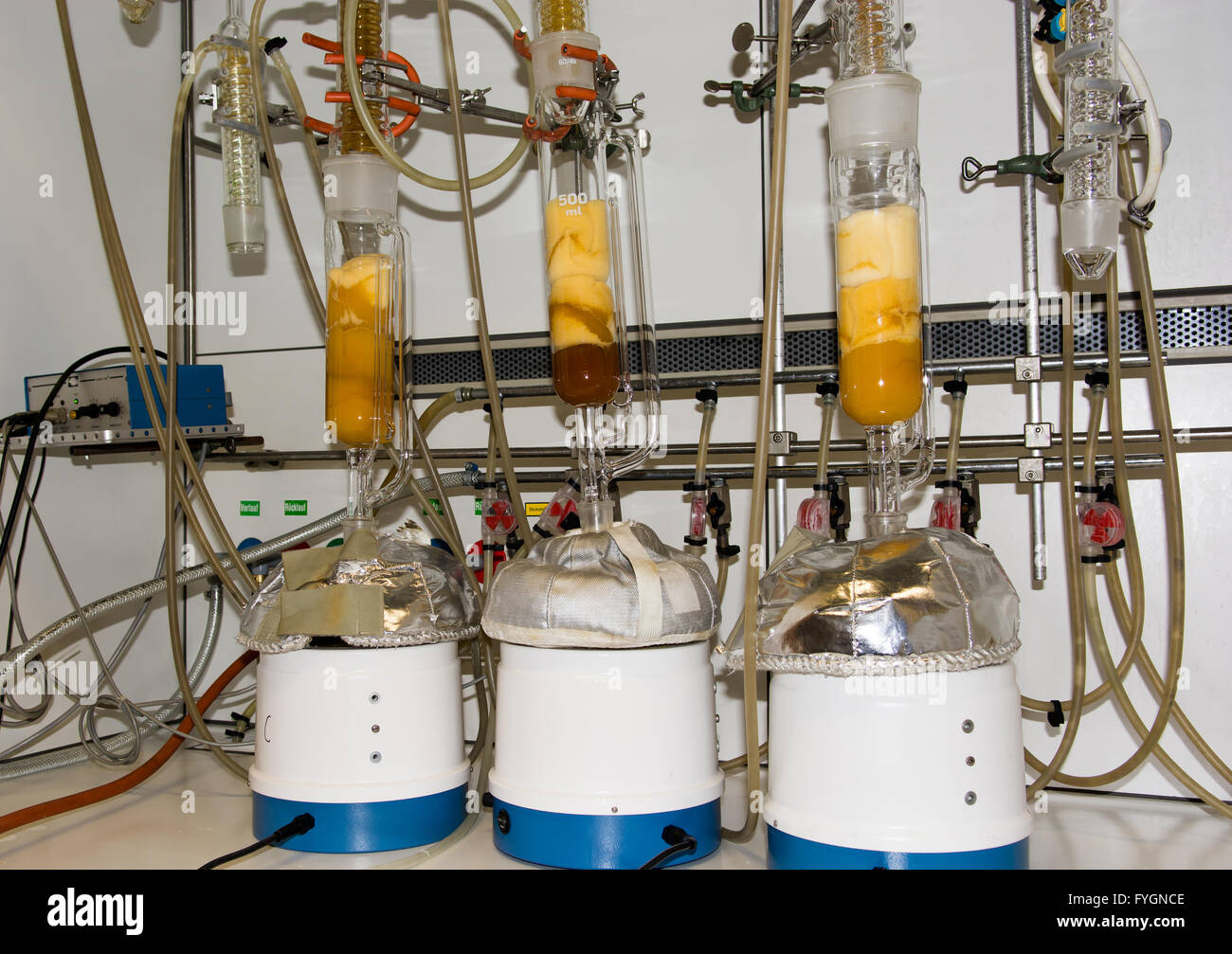Equipment in Chemical Laboratory - Stock Image
