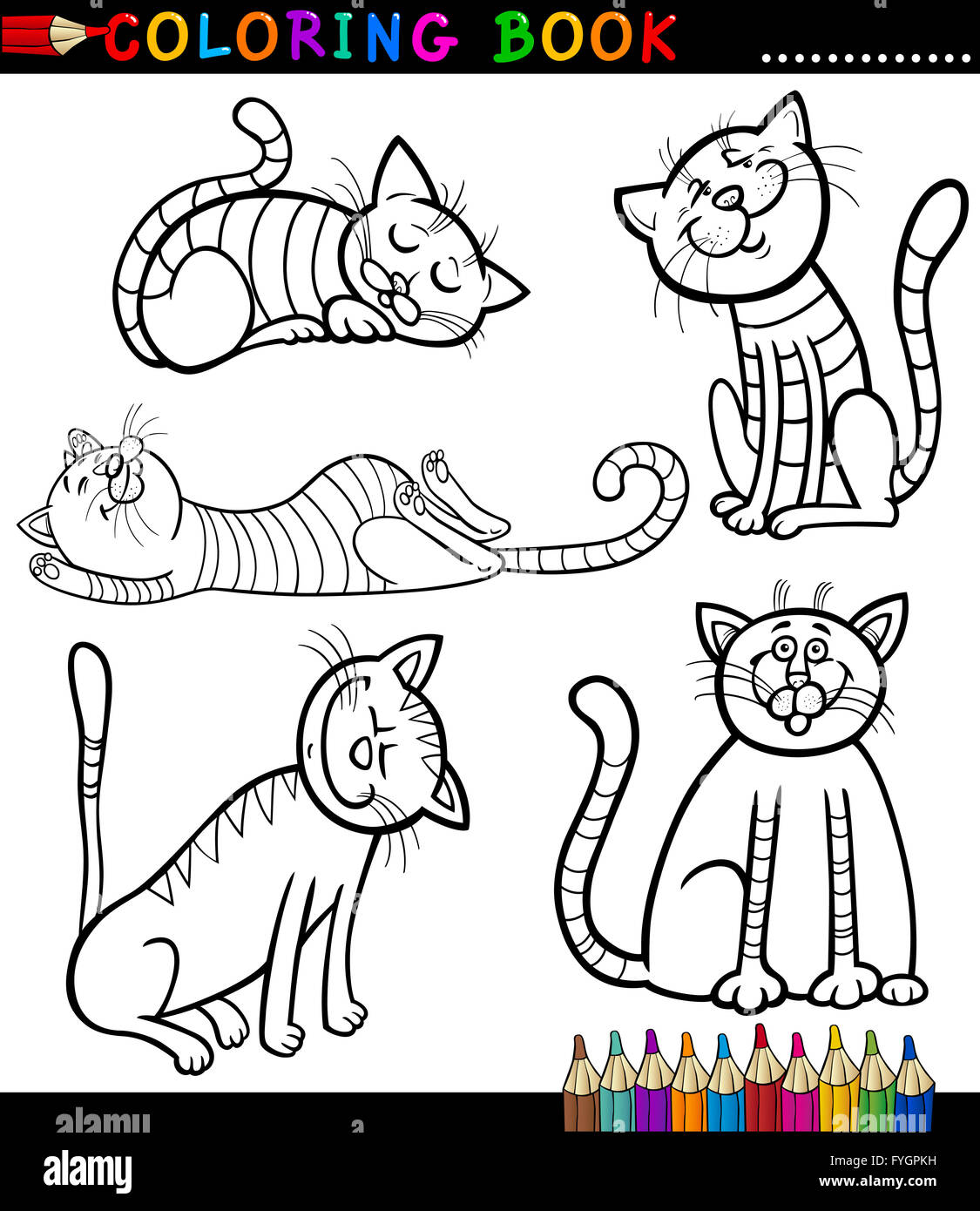 coloring pages of kittens.html