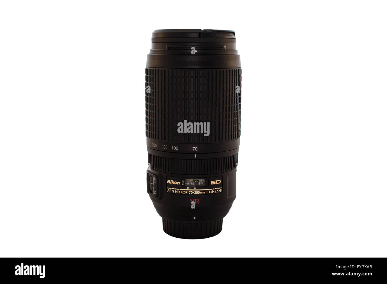 A Nikon Lens' - Stock Image