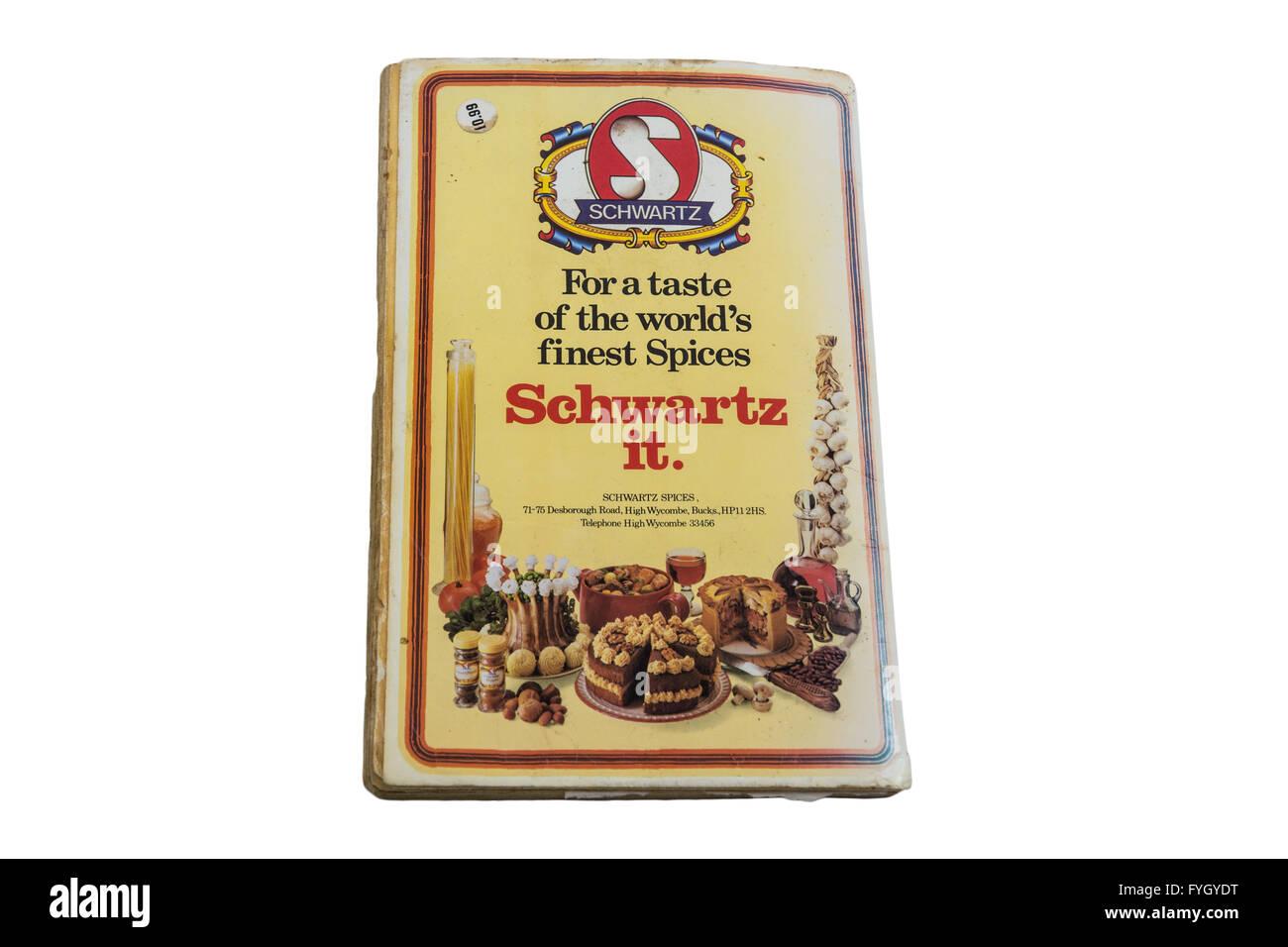 Schwartz scrap book - Stock Image
