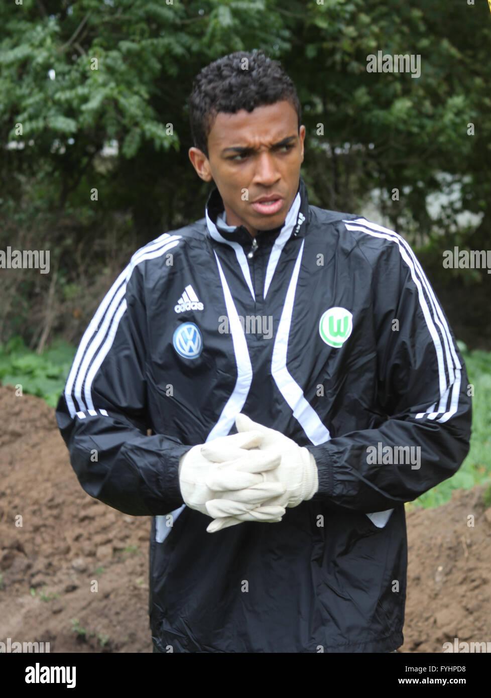 Luiz Gustavo (VfL Wolfsburg) - Stock Image