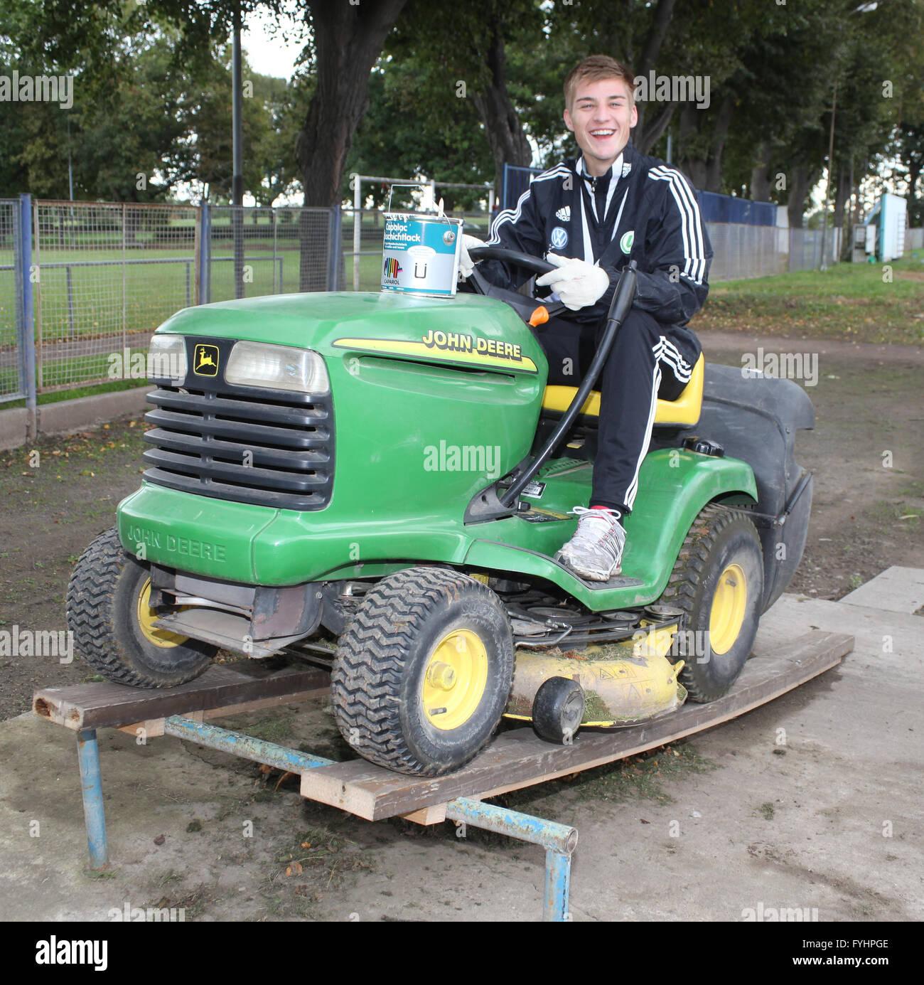Robin Knoche (VfL Wolfsburg) - Stock Image