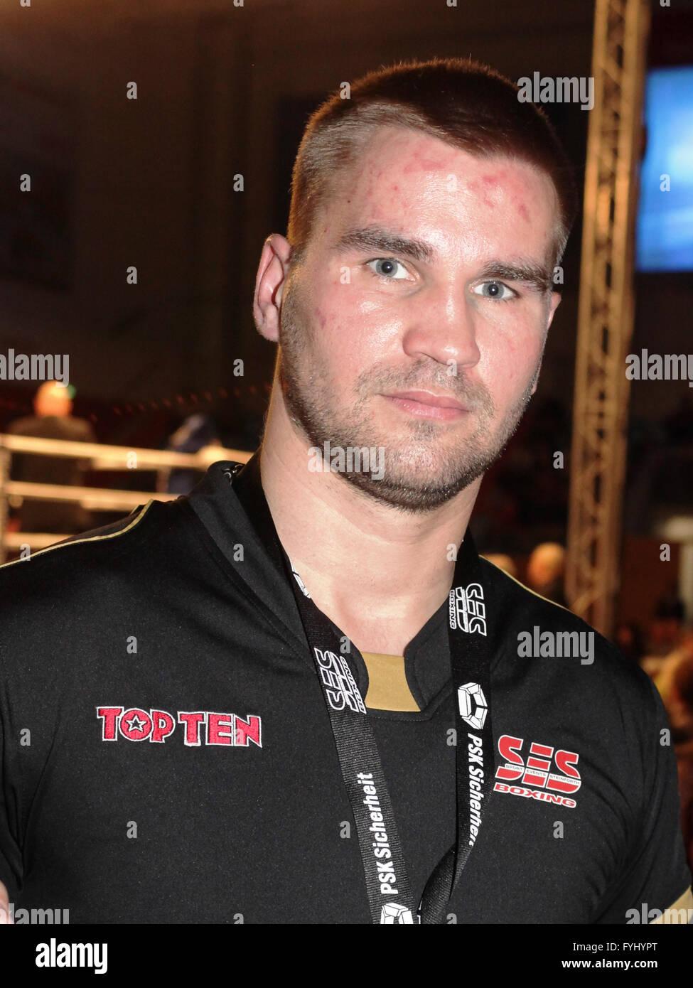 Heavyweight Boxer Steffen Kretschmann - Stock Image