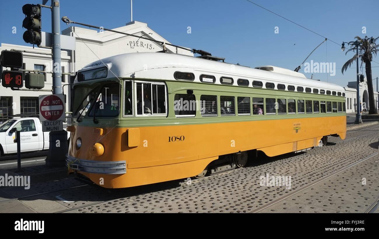 Tram / Line F, San Francisco - Stock Image