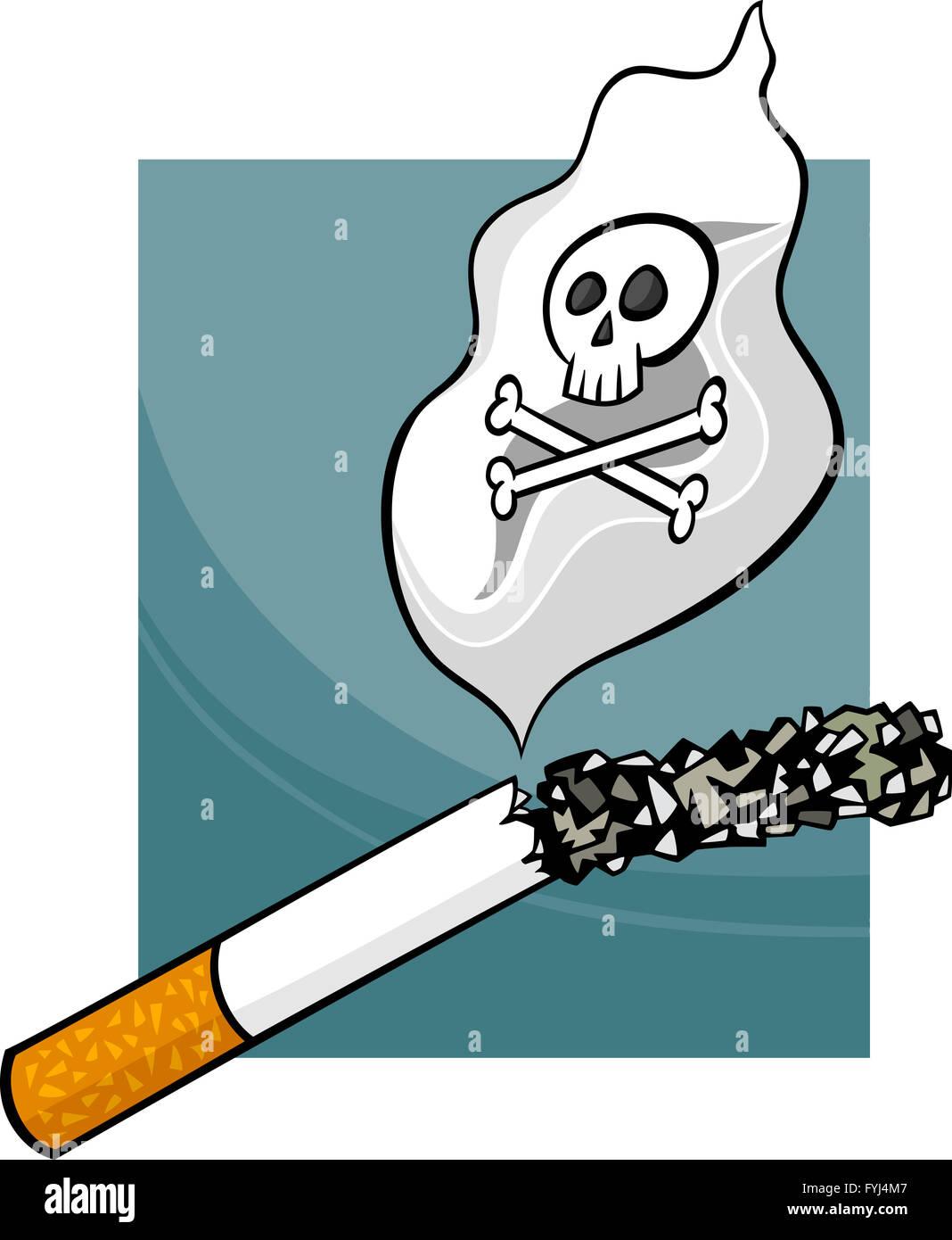 Smoking Addiction Cartoon High Resolution Stock Photography And Images Alamy