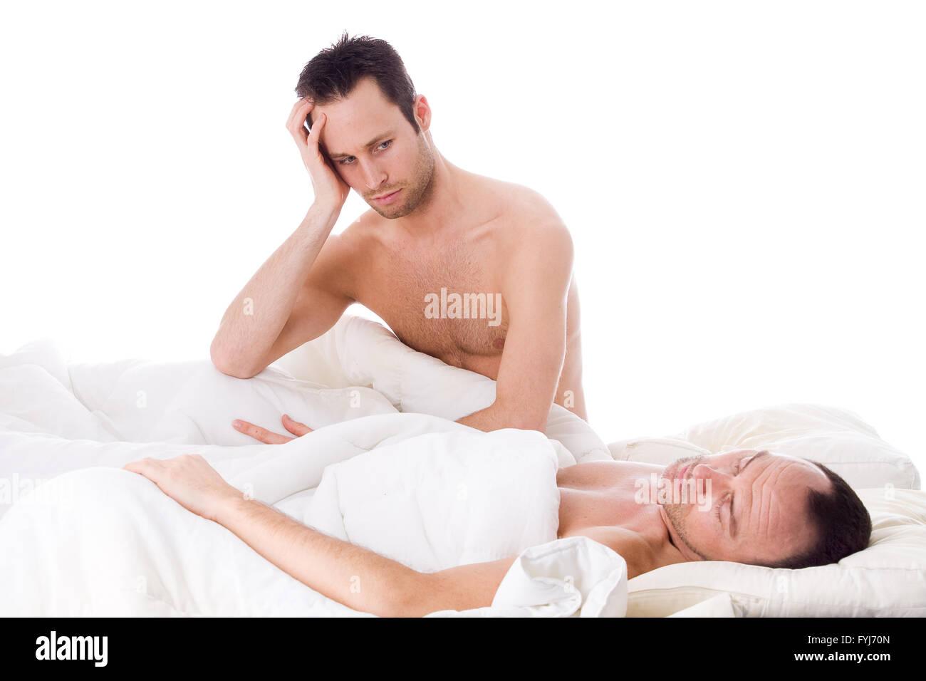 Homo relation trouble - Stock Image