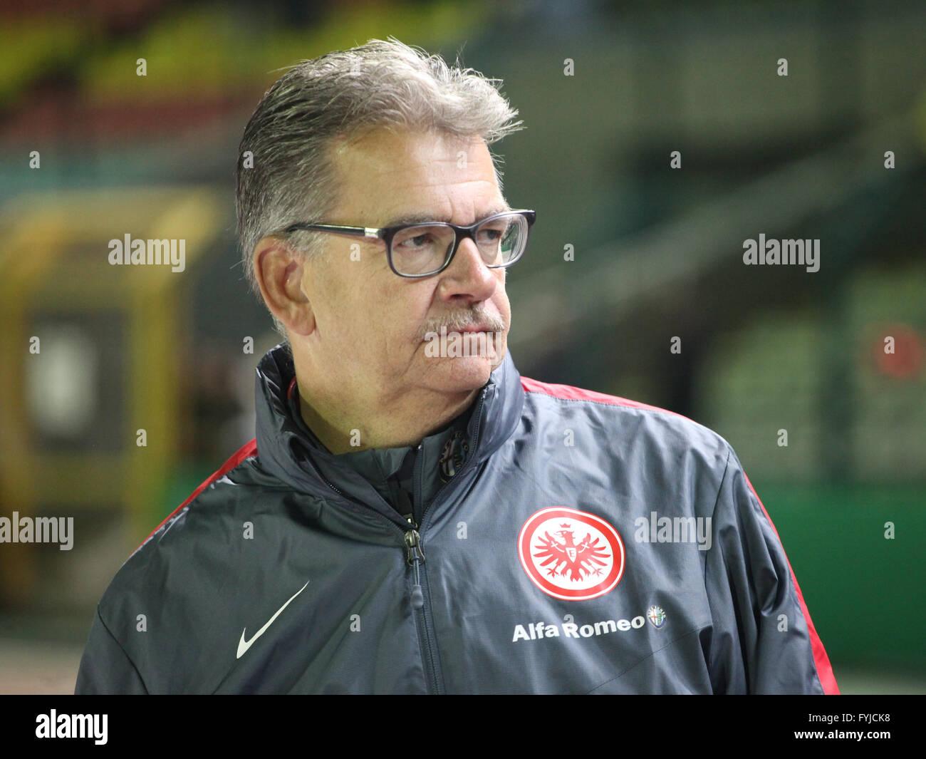 Rainer Falkenhain (Eintracht Frankfurt) - Stock Image