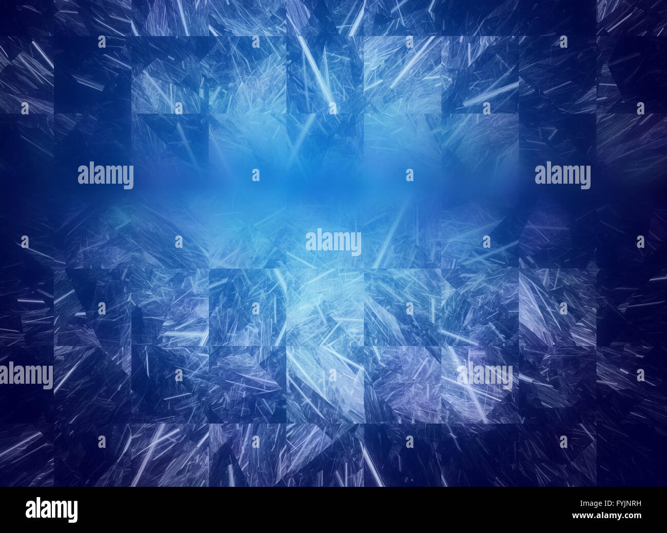 Abstract fractal texture, wisps and lights, Background design of dreamy forms and colors on the subject of dream, - Stock Image