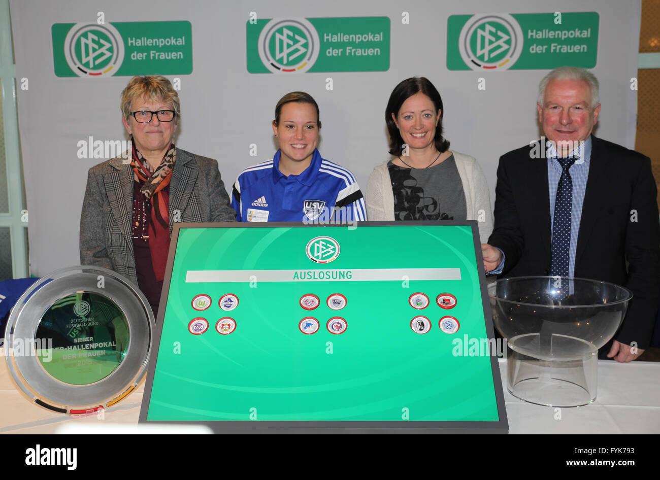 DFB Women Pokal Stock Photo