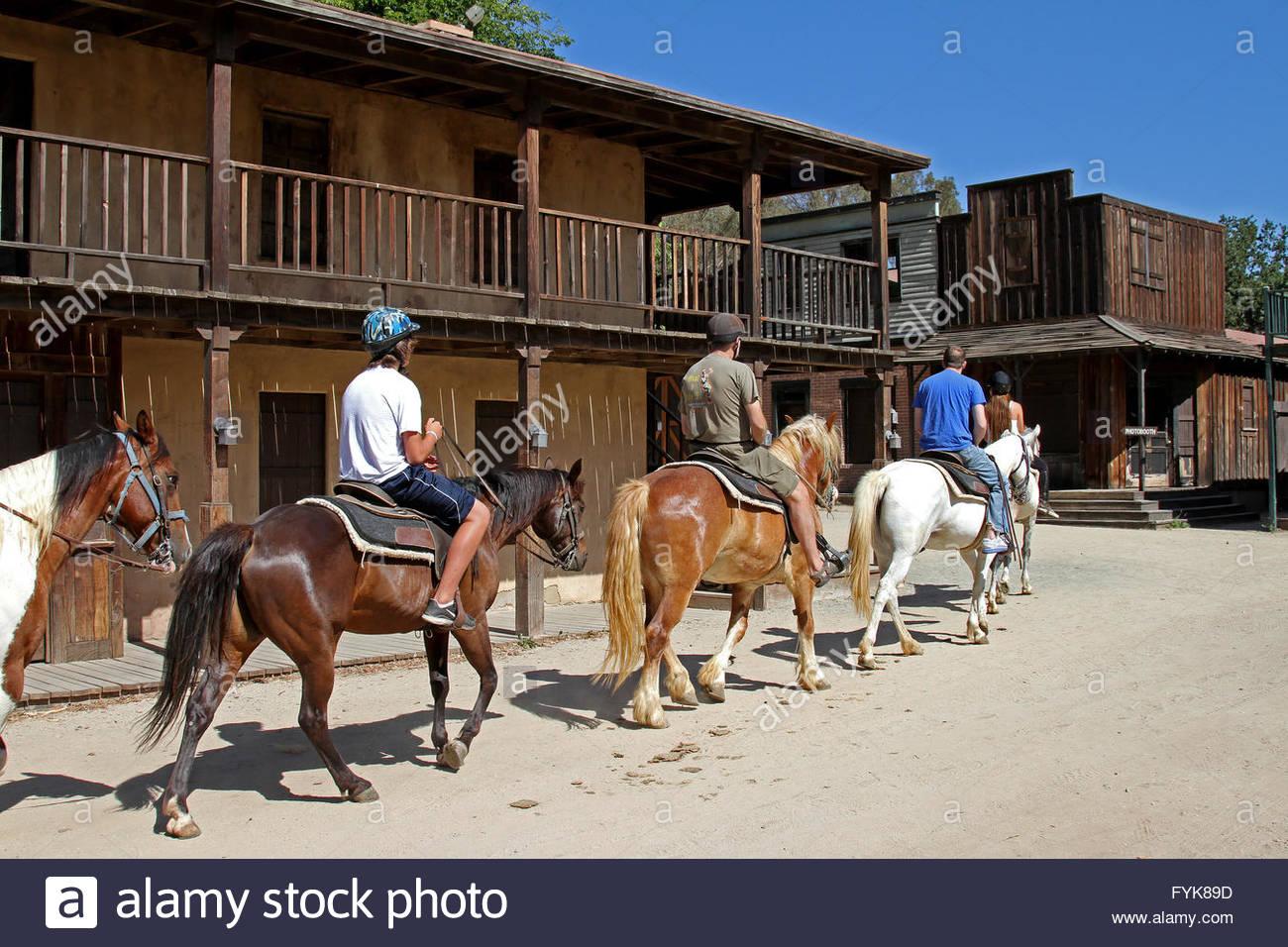 Horseback Riding On Paramount Ranch Santa Monica Mountains National