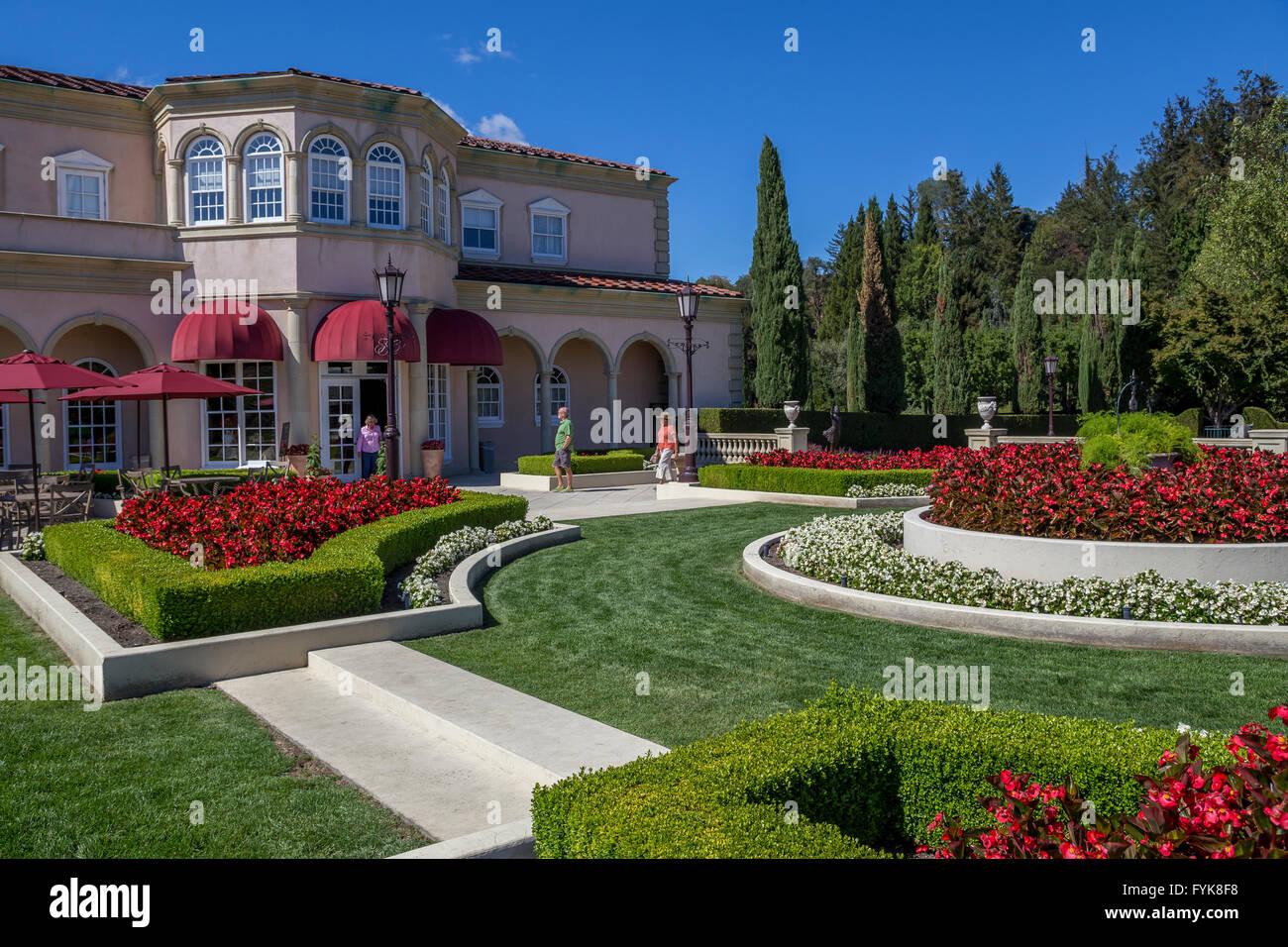 Villa Fiore Tasting Room, Il Terrazzo outdoor tasting