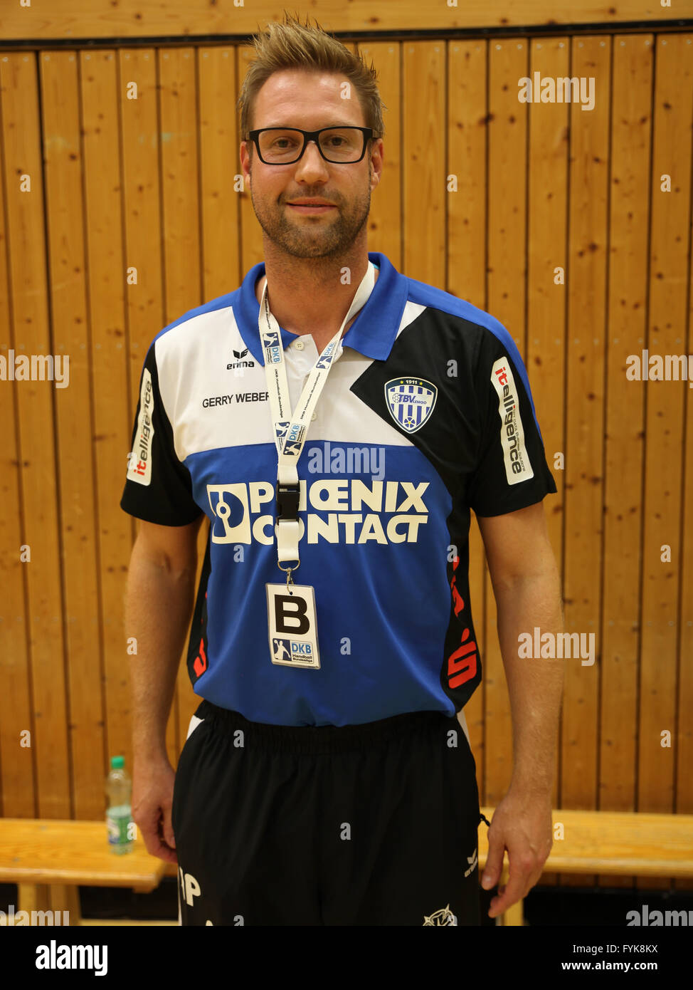 Niels Pfannenschmidt (TBV Lemgo) - Stock Image