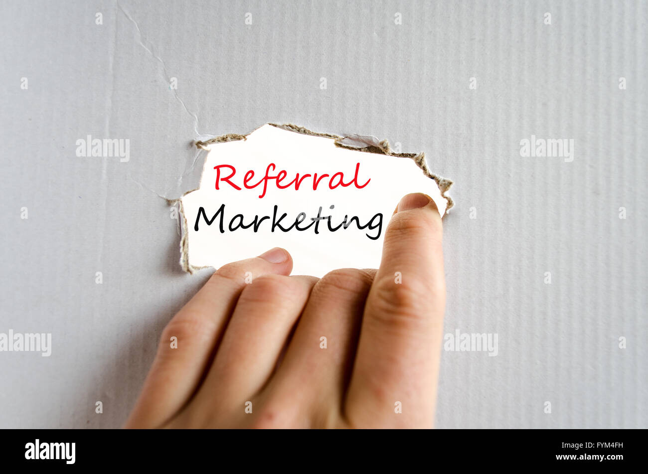 Referral Marketing Concept - Stock Image