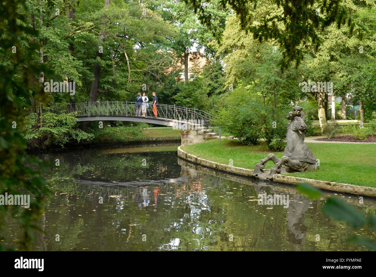 Hofgarten, Bayreuth, Bayern, Deutschland - Stock Image