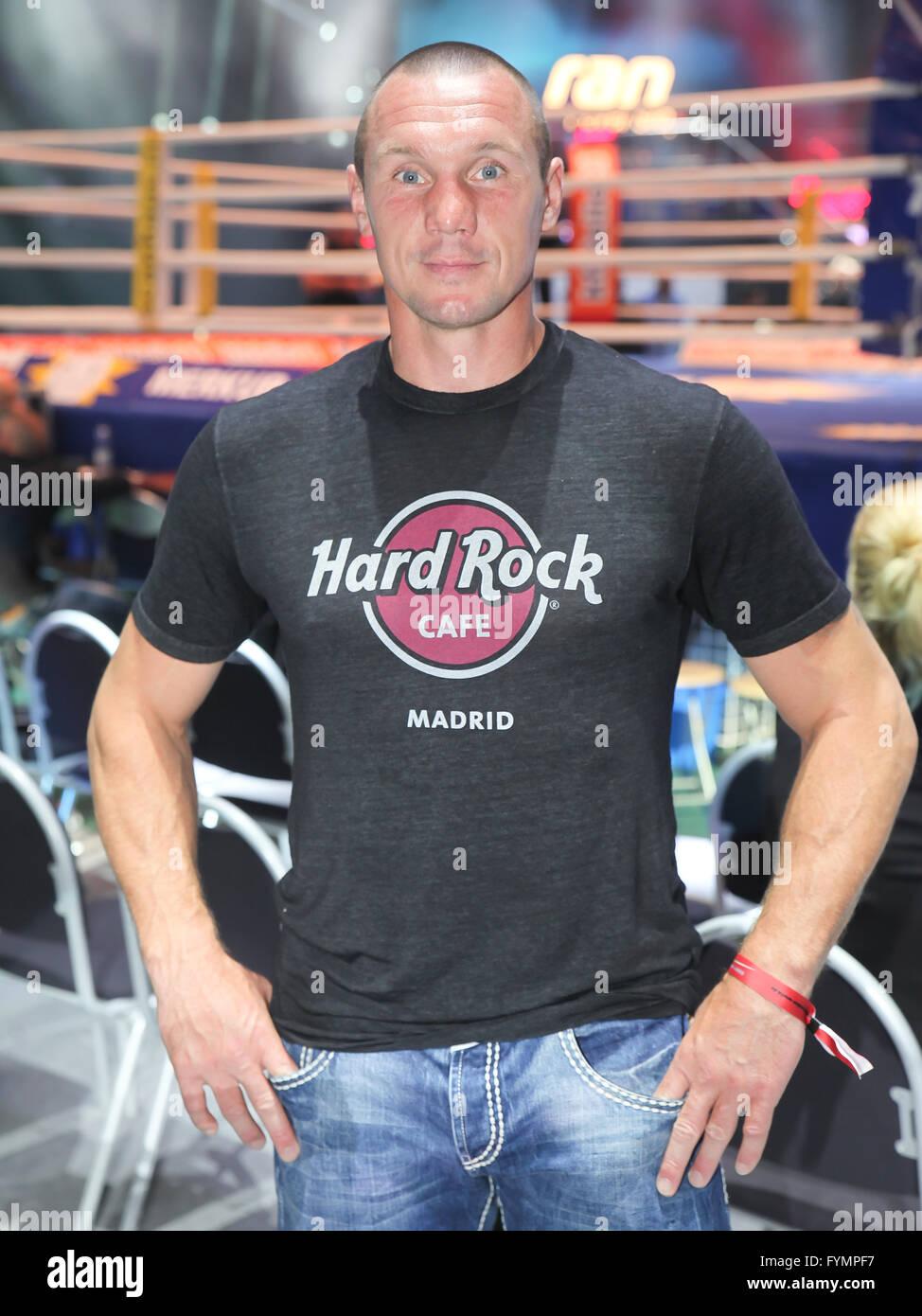 Boxer Sebastian Sylvester (Team Sauerland) Stock Photo