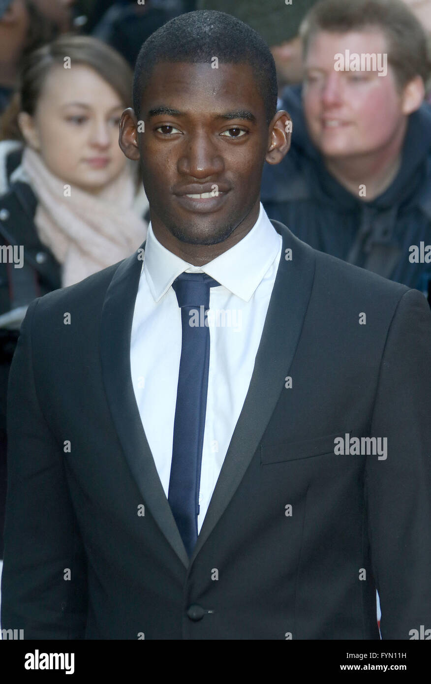 March 20, 2016 - Malachi KIrby attending 'Jameson Empire Awards 2016' at Grosvenor House Hotel in London, - Stock Image