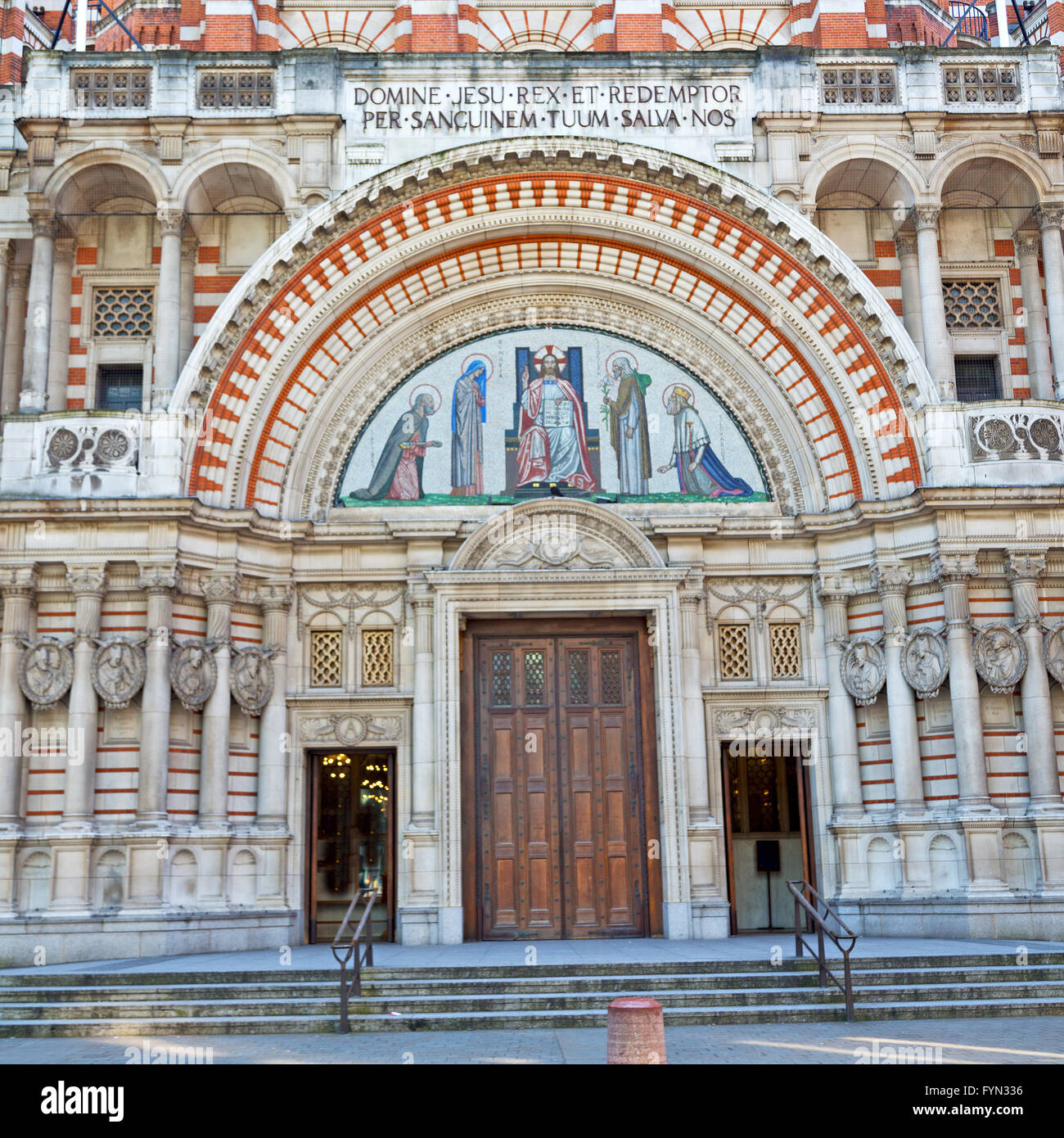 door westminster cathedral in london england old construction and religion & door westminster cathedral in london england old construction and ...
