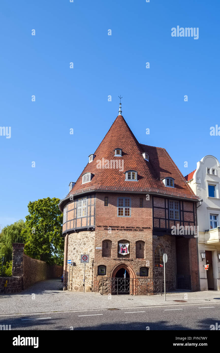 Local museum Treuenbrietzen, Brandenburg, Germany - Stock Image