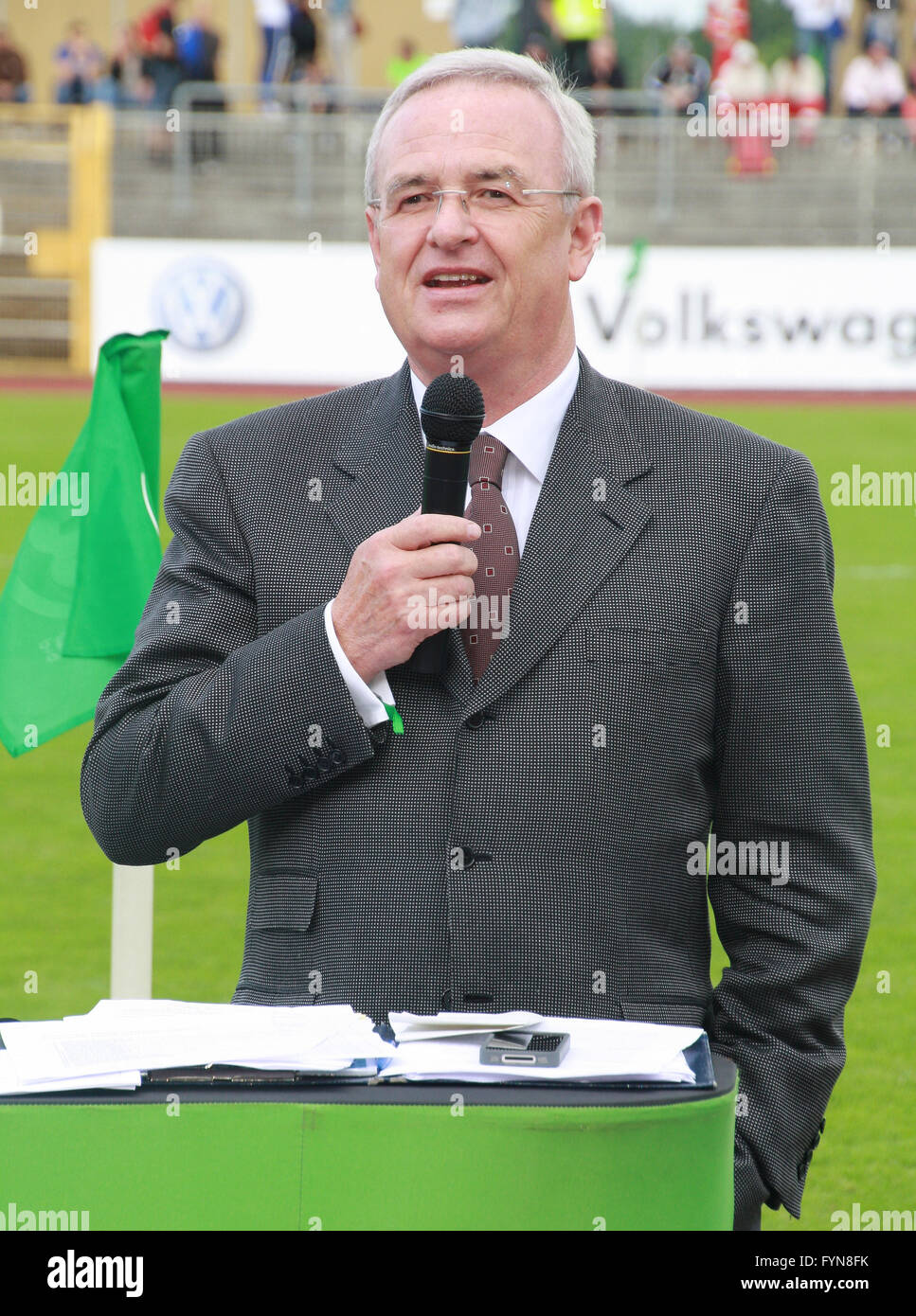 Martin Winterkorn, VW Wolfsburg - Stock Image
