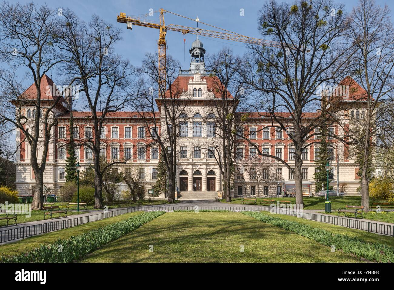 Wien, Universität für Bodenkultur (Boku), Gregor-Mendel-HausStock Photo