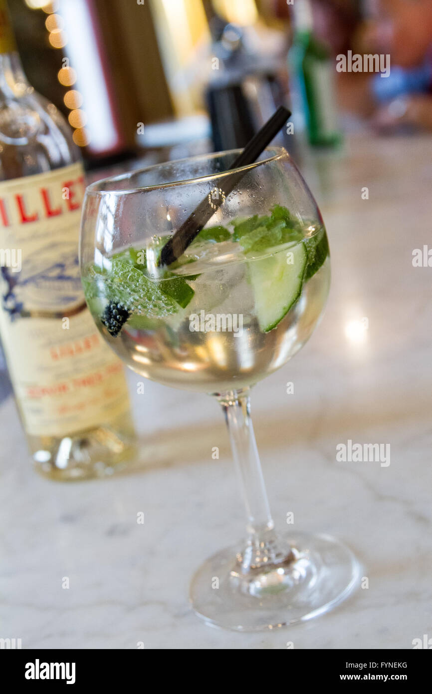 Cocktail drink - Stock Image